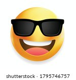 high quality emoticon with... | Shutterstock .eps vector #1795746757