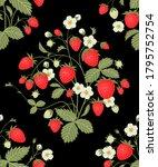 seamless floral pattern. ripe...   Shutterstock .eps vector #1795752754
