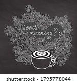 handwritten vector coffee cup... | Shutterstock .eps vector #1795778044