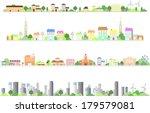 city   Shutterstock .eps vector #179579081