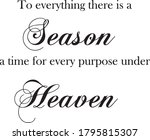 to everything there is a season ...   Shutterstock .eps vector #1795815307