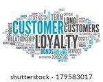 word cloud with customer... | Shutterstock . vector #179583017