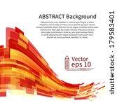 abstract background  vector | Shutterstock .eps vector #179583401