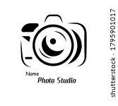 photographer camera logo.... | Shutterstock .eps vector #1795901017