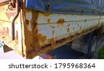Sheet Metal Corrosion Of Old...