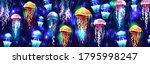 glowing vivid transparent... | Shutterstock .eps vector #1795998247