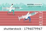 medical concept. vaccine... | Shutterstock .eps vector #1796079967