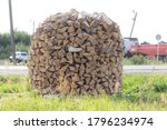Chipped Birch Firewood. The...