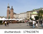 krakow  poland   may 31 ... | Shutterstock . vector #179623874