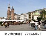krakow  poland   may 31 ... | Shutterstock . vector #179623874