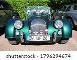 Vintage Car Morgan V6 At Motor...