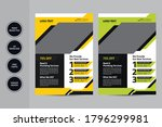 home repair flyer design... | Shutterstock .eps vector #1796299981