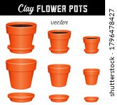 Flowerpots Filled With Dirt ...