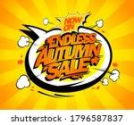 endless autumn sale banner... | Shutterstock . vector #1796587837