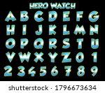 Hero Watch Cartoon Alphabet   ...
