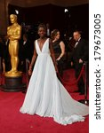 Small photo of LOS ANGELES - MAR 2: Lupita Nyong'o at the 86th Academy Awards at Dolby Theater, Hollywood & Highland on March 2, 2014 in Los Angeles, CA