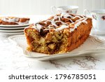 Cut Country Apple Fritter Loaf...