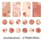 bundle of editable insta story... | Shutterstock .eps vector #1796815831