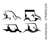 Golf Cart Logo Vector...