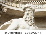 Neptune Of Trevi Fountain ...