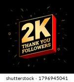 2k Followers Thanks At Social...