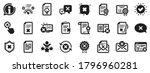 set of decline certificate ... | Shutterstock .eps vector #1796960281