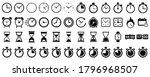set hourglass icons  sandglass...   Shutterstock .eps vector #1796968507