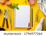 Open Blank Notebook For Recipes ...