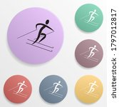 freestyle skiing badge color...