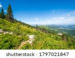 Steep Mountain And Lake Views...