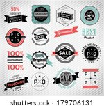 premium quality  guarantee and... | Shutterstock . vector #179706131