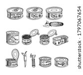 Set Of Fish Caviar  Canned ...