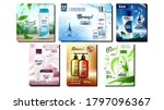shampoo and conditioner promo... | Shutterstock .eps vector #1797096367