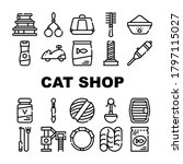 cat market accessory collection ... | Shutterstock .eps vector #1797115027