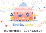 Banner With Birthday...