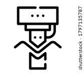 bending of metals line icon...   Shutterstock .eps vector #1797135787