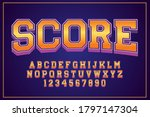 decorative score font and...   Shutterstock .eps vector #1797147304