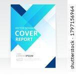 vector abstract design cover... | Shutterstock .eps vector #1797156964