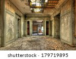 Decayed Corridor In An...