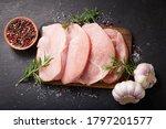 Fresh Turkey Meat With Rosemary ...
