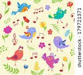 Cute Spring Musical Birds...