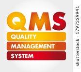 Qms   Quality Management System ...