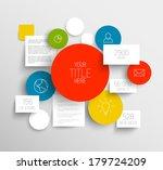 vector abstract circles and...