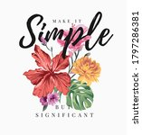 simple slogan with colorful... | Shutterstock .eps vector #1797286381