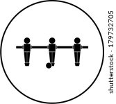 foosball symbol