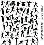 50 high quality sport... | Shutterstock .eps vector #17974060