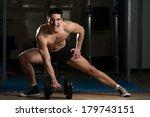 living large   body builder... | Shutterstock . vector #179743151