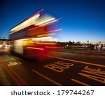 double decker bus crossing... | Shutterstock . vector #179744267