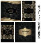 set of vintage frames. elegant...   Shutterstock .eps vector #179747081