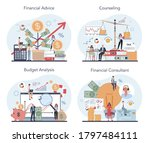 financial analyst or consultant ... | Shutterstock .eps vector #1797484111